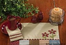 Kitchen Decor / Table Settings, Dishtowels, Dishes
