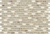 North Shore Collection / A beautiful mosaic tile collection that features mother of pearl and glass