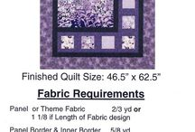 Quilting - Panels