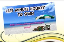 Last minute holiday to spain