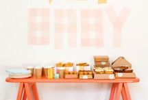 Rustic Baby Shower | with added pop of succulents & gold