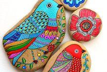 Piedras para colorear