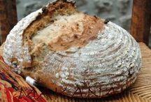 chléb slané pečivo