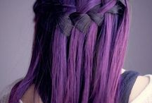 Purple hair don't care!! / by Sammy Carrillo