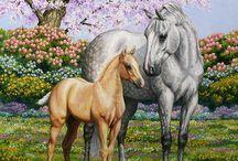 Horse Art 2 / by Sharon Fitrakis-Bradbury