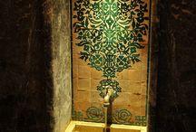 indian/moroccan interiors