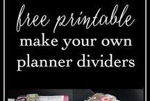 Planner Dividers