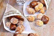 Donuts , smaženky