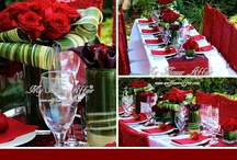 Red - Fall in love all over again / by Cloydon Dreamdecor