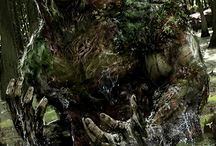 Swamp Thing / Referencias gráficas a la Cosa del Pantano.