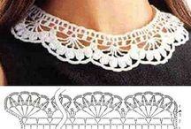 Reena Crotchet Collars