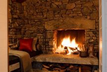 Fire place ideas / by Leigh Ann Bryson