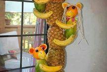 ornamentação frutas