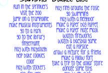Kids Summer Ideas