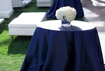 Navy Blue Wedding