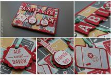 Karten zu allen Anlässen / Karten und Verpackungen u. a. mit Produkten von Stampin' Up!