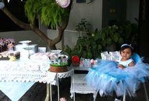 birthday party / alice in wonderland
