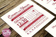 Typography Wedding