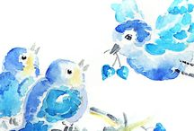 Blue Bird Love / by Mary Woods