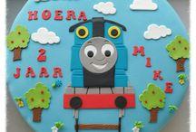 Taart Thomas de trein