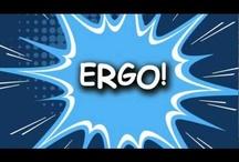 Be an Ergo Hero! / Ergo handouts, Ergonomic tips, Motivational sayings and photos, etc...