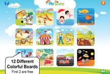 Tvořivé scény / Interactive visual scene / iPad aplikace pro vzdělávání iPad apps for education