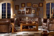 Wohnzimmer / gemütliches Wohnen: vom Regal zur Vitrine, vom Kamin zur Couch - alles rund um das Wohnzimmer