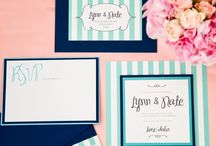 Wedding papery goodness / Invitations, stationery, wedding table plans, paper decorations - everything paper at weddings.  / by English Wedding Blog