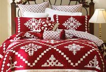Quilts ~ The Red & White / . / by Anna Quilting & Wool