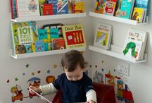 kid's book shelves