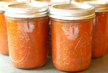 Recipes - Canning / Freezing / I remember my grandmother's taking the time to can or freeze up their bounty from the garden.