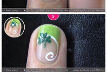 Nails Art Tutorial Step By Step