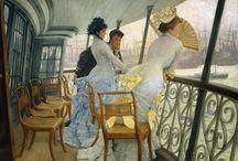 As principais pinturas de James Tissot ~ Francês