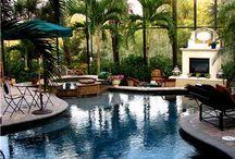piscina acoperita sticla / piscina interior exterior acoperire siguranta iarna incalzita spa jacuzzi