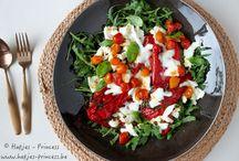 Lunch, voorgerechten en salades