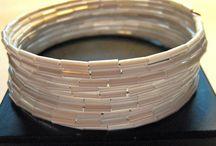 Memorywire Bracelets / by Christine Hirler