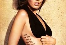 glamtatoos! / Tatuaggi di ogni forma e dimensione; il tatoo è ok, basta che sia glam!