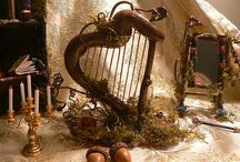 Fae Dreams / ...a piece of the Faerie in dollhouse scale