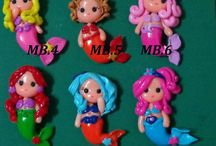 polymer clay charms!!!!