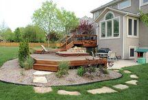 Backyards - Hot Tub & Deck / by Kristin Rayburn
