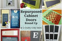 DIY Cabinet Door Projects / Stop in at the ReStore during the month of November 2015 to get your cabinet doors for only $1.00 each!  / by Green Bay ReStore