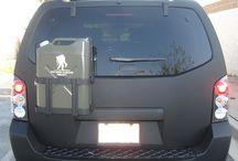 SUV camper