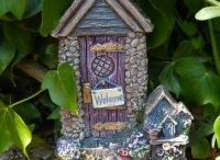 Fairy Doors By Elderberry Gifts / A beautiful selection of hand crafted fairy doors and houses for your home or garden