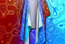 Kimono Robes Draped Kimonos