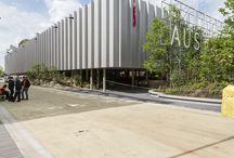 Padiglione Austria - Expo 2015 / Mapefill utilizzato per ancoraggi strutturali e Eporip per regolarizzazione sottofondi