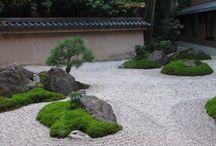 камни сад