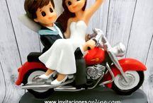 Figuras de pastel / ideas bodas