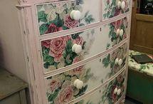 floral designs for furniture