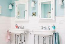 Grey/turquoise bathroom ideas
