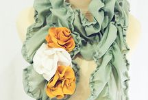 DIY/Crafts: Scarves / Projects & Inspiration / by Amelia Kleymann